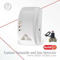 Carbon Monoxide and Gas Detector With Shut Off Valve Manufactures