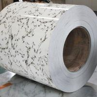 marble color prepainted Steel Coil Manufactures