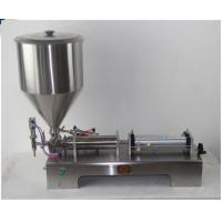 Small Manual Cosmetic Cream Filling Machine Stainless Steel 304 For Toothpaste / Shampoo Manufactures