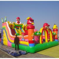 Durable Infaltable Castle Inflatable Angry Bird Amusment Park Manufactures