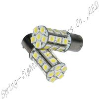 High Output 1156 / 1157 base, 24 pieces, 400lm, 300mA, 360 degrees LED automotive light Manufactures