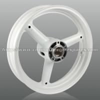 Three Spoke Cut Custom Motorcycle Wheels , High Performance Aluminum Alloy Wheel Rims Manufactures