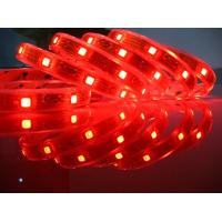 IP67, 72W / 5 Meter, Red 5050 flexible SMD led strip light Ce & RoHs approval Manufactures