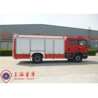 Approach Angle 19° Rescue Fire Truck Six Seats Lifting Time On Rail Less Than 60s Manufactures