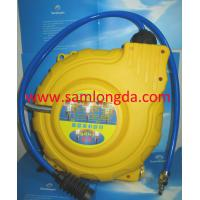 Automatic Retractable air hose reel, PP cover with 15m pvc air hose, max 15bar. Manufactures