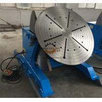 2 Ton Tilting Welding Table , Vessel Head Welding Positioner Turntable Manufactures