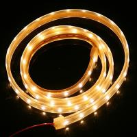 Hotel , Bars thin 12v outdoor led strip light waterproof with Warm White for stage Manufactures