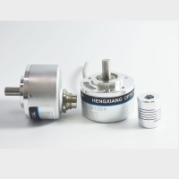 190 Grams 8mm Solid Shaft Encoder 1440ppr D Type Incremental Encoder CE Certified Manufactures