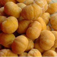 Frozen  peeled roasted chestnut Manufactures