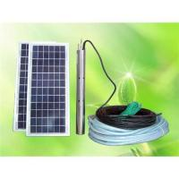 China DC Brushless Solar Deep-well Water Pump on sale