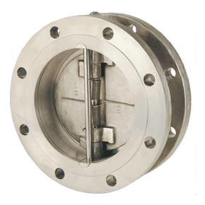 Quality Flange connecting double disc type swing check valves for sale