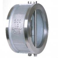Wafer double disc type swing check valves