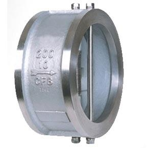 Quality Wafer double disc type swing check valves for sale