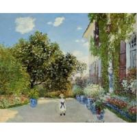 Impressionist(3830) The_Artist-s_House_at_Argenteuil Manufactures