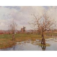 Impressionist(3830) Landscape_with_Flooded_Fields Manufactures