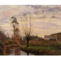 Impressionist(3830) Landscape_with_Small_Stream Manufactures