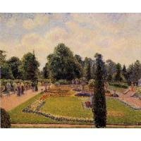 Impressionist(3830) Kew_Gardens_-_Path_between_the_Pond_and_the_Palm_House Manufactures