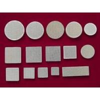 China 2. Ceramic Foam Filters Model: Honeycomb-Ceramic-and-Catalyst-Support-Monolith on sale