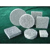 China Foam Honeycomb Ceramic Filter on sale