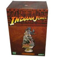 Indiana Jones And The Temple Of Doom 3D Movie Poster Statue Made By Kotobukiya Manufactures