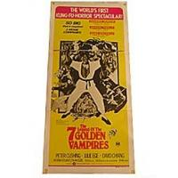 The Legend Of The Seven Golden Vampires Movie Poster Manufactures