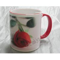 rim and handle color mug Model No:PJ-1803 Manufactures