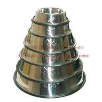 embossed stainless steel bowl 001A-E series Manufactures