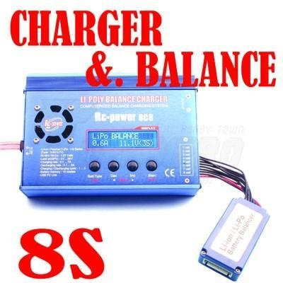Quality Balance Charger 8S LiPo Battery Balance Charger (HK-C1008A) for sale
