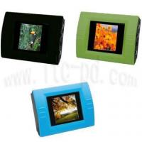 China 1.5 Inch Mini Desktop Digital Photo Frame with Clock and Calendar Power by AAA Battery (ITC-FZA13) on sale