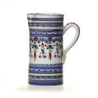 Spanish Straight Sided Majolica Pitcher Manufactures