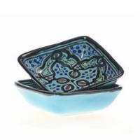 """Turquoise Star 4"""" Sauce Dish, Set of 2 Manufactures"""