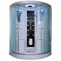China Steam Shower Room Walk-in Twin Seat Steam Shower Cubicle on sale