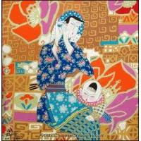Chinese Modern Painting - Mother & Son #11 Manufactures