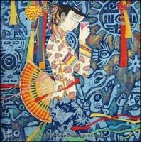 Chinese Modern Painting - Maiden #14 Manufactures