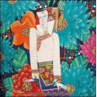 Chinese Modern Painting - Maiden #19 Manufactures