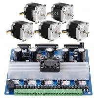 5 Axis CNC Mill kit Stepper Driver Board + 18.9kgf.cm NAME23 Step motor *5 Manufactures