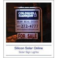China Solar Sign Lights on sale