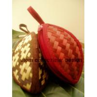 bamboo strips coin purse ( star apple type ) Manufactures