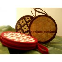 bamboo strips coin purse ( circle ) Manufactures