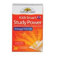 Buy cheap Nature's Way Kids Smart Study Power Omega-3 Fish Oil 50s from wholesalers