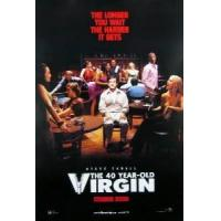 THE 40 YEAR OLD VIRGIN (Double Sided International) ORIGINAL CINEMA POSTER Manufactures