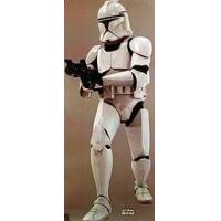 STAR WARS EPISODE 11 - ATTACK OF THE CLONES (Clone Trooper) (Lifesize) ORIGINAL CINEMA POSTER Manufactures
