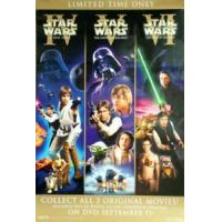 STAR WARS (Single Sided Video) ORIGINAL VIDEO/DVD AD POSTER Manufactures