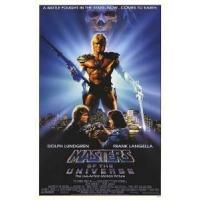 China MASTERS OF THE UNIVERSE Poster (Dolph Lundgren) single sided RARE (1987) ORIGINAL CINEMA POSTER on sale
