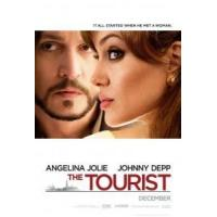 China THE TOURIST Poster (Johnny Depp) double sided ADVANCE (2010) ORIGINAL CINEMA POSTER on sale