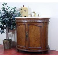 China 38 Legion Furniture W5250-11 Burl Wood Veneer Bathroom Vanity on sale