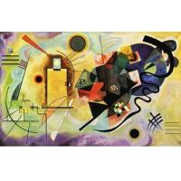 """Kandinsky, Wassily """"yellow-red-blue 1925"""" Manufactures"""