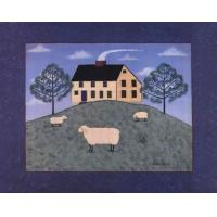Sheep on the Hillside - Colleen Sgroi Manufactures