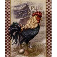 True Blue Rooster - Alma Lee Manufactures