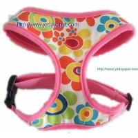 Air mesh harness YD003-1air mesh pet harness covered with flowers canvas Manufactures